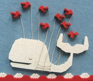 Lego Fail Whale by tveskov via Flickr