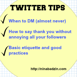 Nina Badzin Twitter Tips Posts