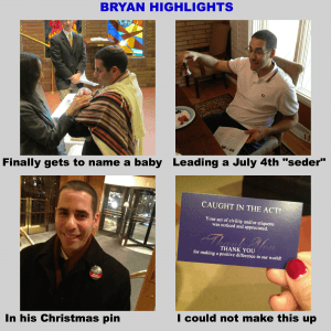 birthday collage for bryan