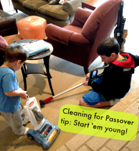 Cleaning for Passover Tip