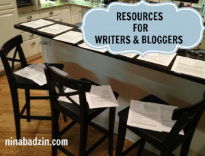 resources for writers and bloggers