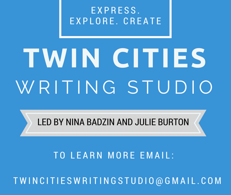 Twin Cities Writing Studio: Write With Me!
