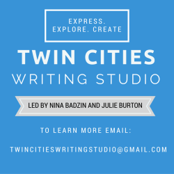 JOIN MY WRITING GROUP!