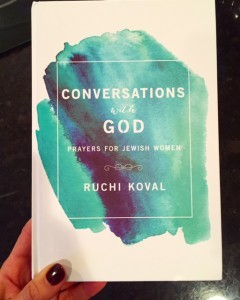 Conversations with G-D Ruchi Koval Giveaway on Nina Badzin's Blog