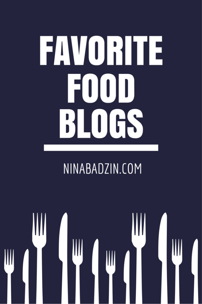 favorite food blogs