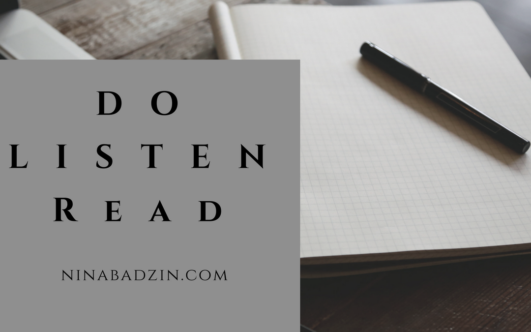 Do Listen Read: January 2018