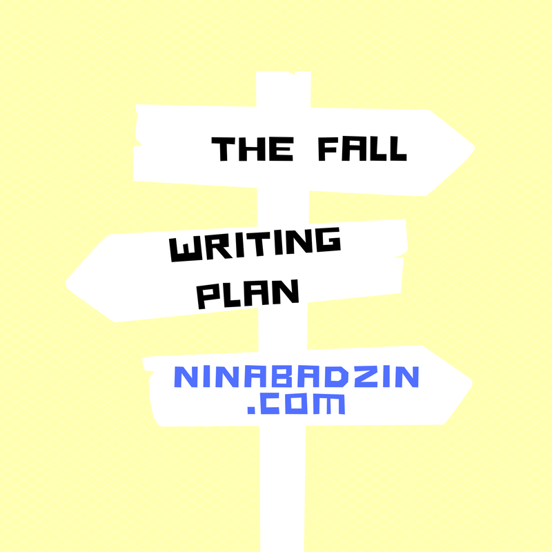 The Fall Writing Plan