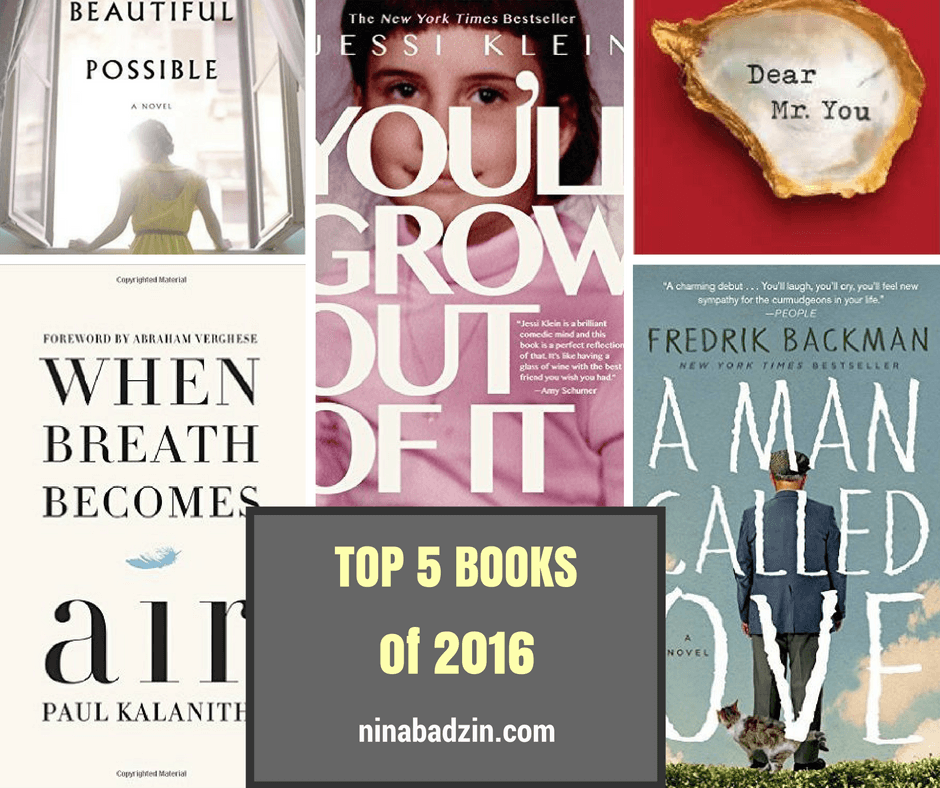 top five books of 2016