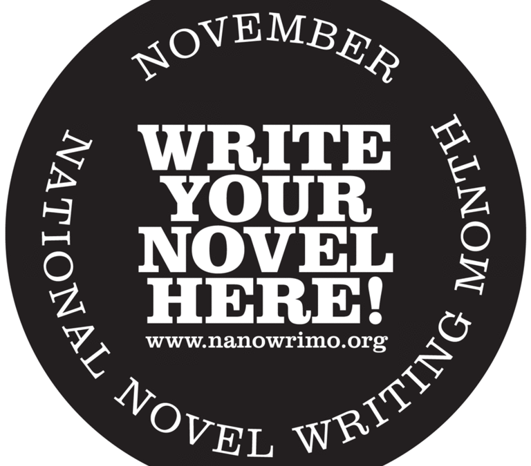 Prepping for National Novel Writing Month